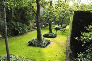Tuin Johannapark. Amsterdam
